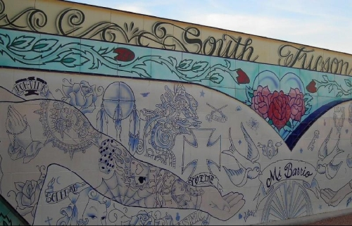 From the archives the ins and outs of a tattoo mural in for Arm mural tattoos